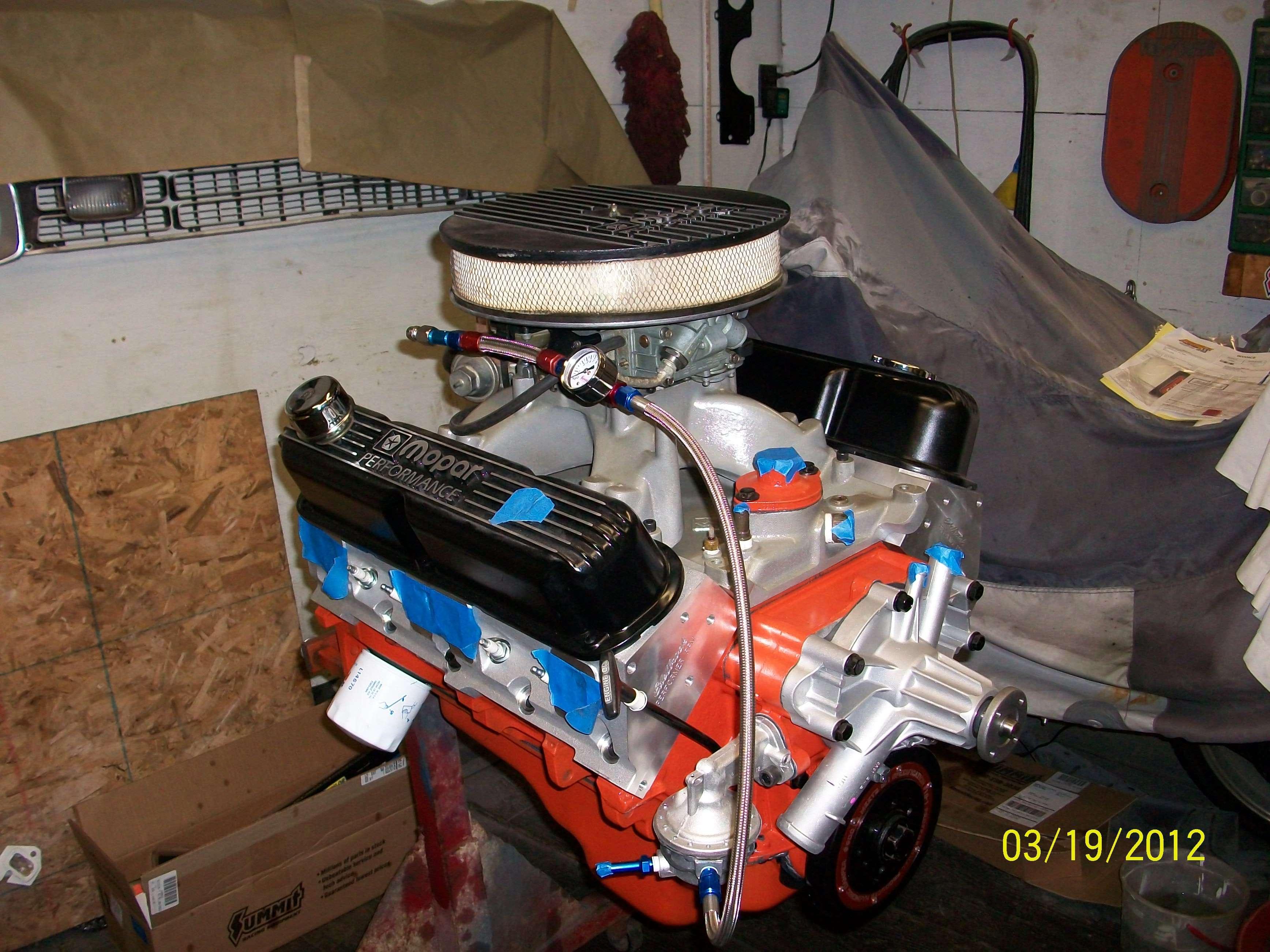 mopar 360 performance build