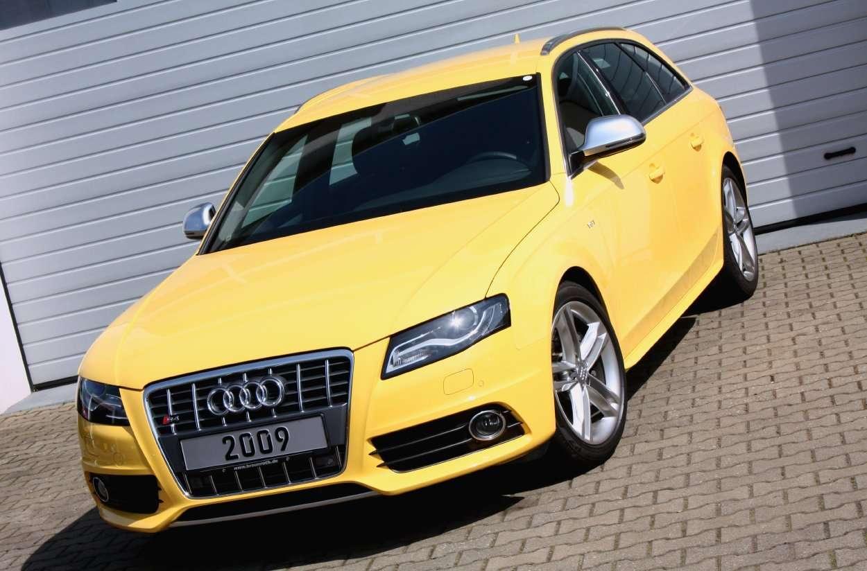 Super Cars News Audi S4 Avant Imola Yellow