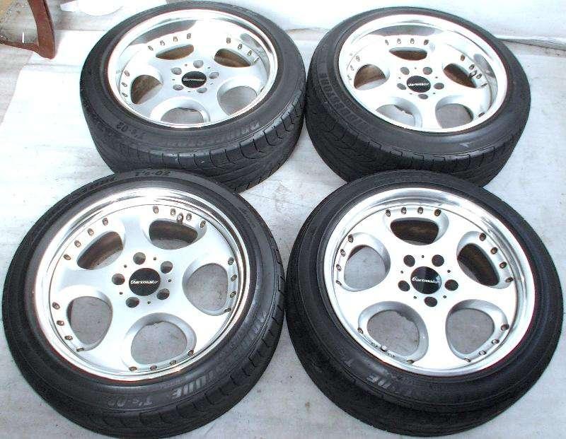 SSR Gartmaier Rims alloy wheels 17 8J 9J 5x114 180sx S14 RX8 RX7