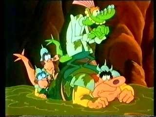 The Dreamstone   S01E13    Megattack (18th December 1990) [TVRip (mpeg)] preview 1